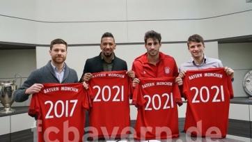 «Бавария» продлила четырёх своих ведущих футболистов
