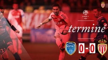 «Монако» не сумел обыграть аутсайдера Лиги 1