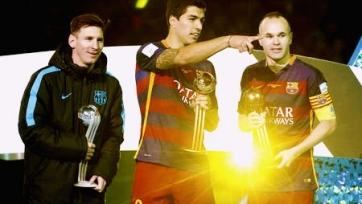 Луис Суарес стал обладателем «Золотого мяча» клубного чемпионата мира