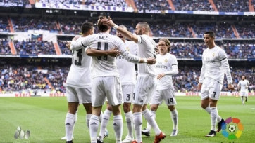 «Реал» отправил десять мячей в ворота «Райо Вальекано»