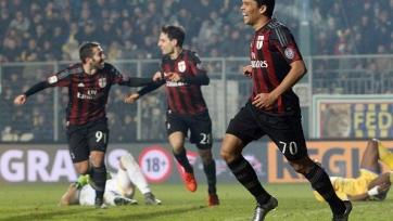 «Милан» потрепал нервы фанатам, но обыграл «Фрозиноне»