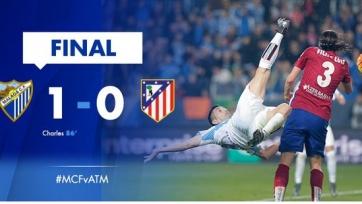 «Атлетико» потерпел первое поражение с сентября