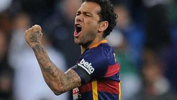 Дани Алвес: «Барселона» хочет побеждать ещё больше»