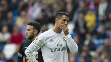 Руководство «Реала» считает, что Роналду в этом сезоне выступает слабо