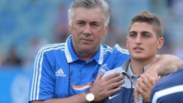 Марко Верратти: «Анчелотти стал моим вторым отцом»
