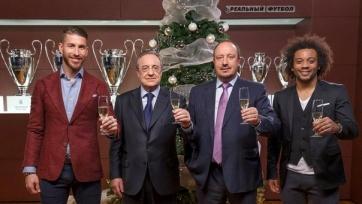 Бенитес поздравил болельщиков «Реала» с рождественскими праздниками