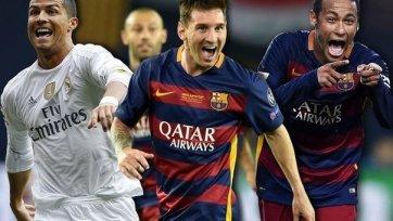 The Guardian: Роналду, Месси и Неймар» вошли в тройку лучших футболистов 2015-го года