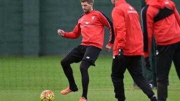 Стивен Джеррард приступил к тренировкам с «Ливерпулем»