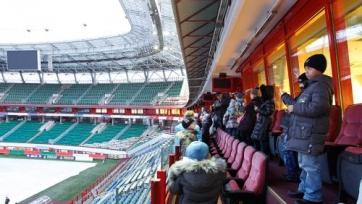 «Локомотив» организовал экскурсию по стадиону для своих юных поклонников