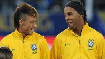 Роналдиньо: «Неймар становится лицом бразильского футбола»
