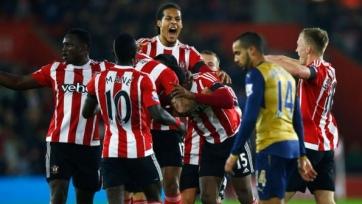 «Саутгемптон» одержал самую крупную свою победу в противостоянии с «Арсеналом»