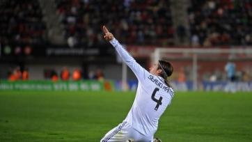 Серхио Рамос против «Реал Сосьедада» не сыграет