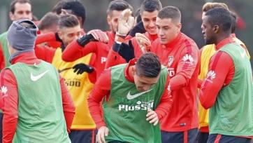 Матиас Краневиттер присоединился к «Атлетико» и провёл первую тренировку