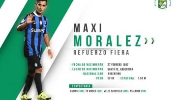 Макси Моралес решил продолжить карьеру в Мексике