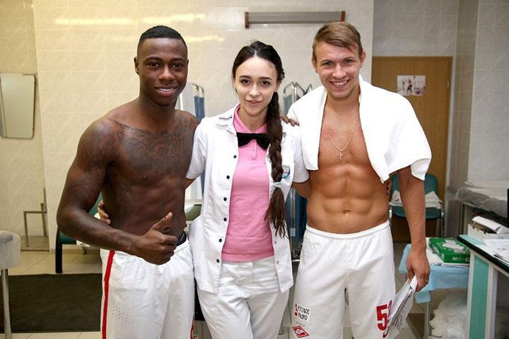 Виктория Гамеева: «Я не просто женщина в футболе. Я – врач-специалист»