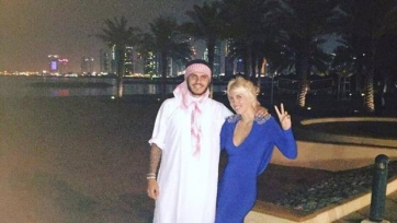 Мауро Икарди отдыхает в Катаре