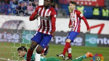 «Атлетико» вырвал победу в матче с «Леванте»