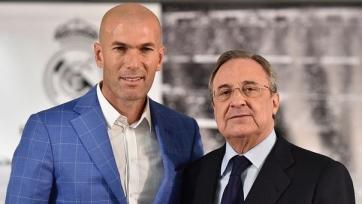 Первая тренировка «Реала» с Зиданом пройдёт уже во вторник