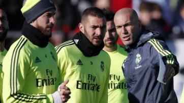 Футболисты «Реала» провели первую тренировку под руководством Зидана
