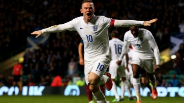 Уэйн Руни — лучший игрок сборной Англии в 2015-м году