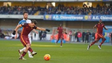 «Рома» не удержала победный счёт в матче с «Кьево»