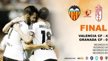 «Валенсия» разгромила «Гранаду»