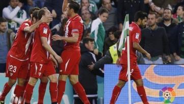 «Севилья» уверенно обыграла «Бетис» в первом матче 1/8 финала Кубка Короля