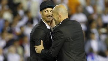 Зидан: «Роналду – это сердце и душа «Реала»