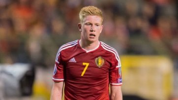 Де Брёйне – лучший игрок сборной Бельгии по версии фанатов