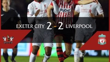 «Ливерпуль» не сумел одолеть команду четвёртого дивизиона