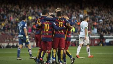 «Барселона» разгромила «Гранаду»