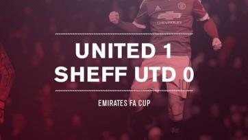 «Манчестер Юнайтед» с трудом переиграл «Шеффилд Юнайтед»