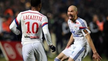 «Лион» выиграл первый матч на новом стадионе