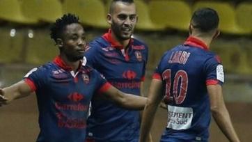 «Монако» ушёл от поражения в матче с «Газелек-Аяччо»