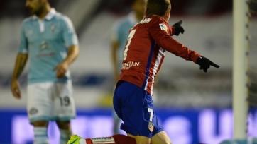 «Атлетико» добыл три очка в Виго