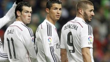 Криштиану Роналду голосовал за партнёров по «Реалу»