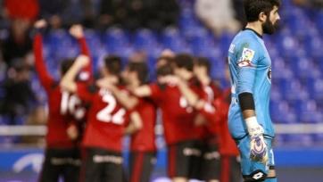«Депортиво» провалился в домашней игре с «Мирандесом» и вылетел из Кубка Испании