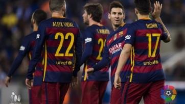 «Барселона» без проблем обыграла «Эспаньол»