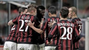 «Милан» пробился в полуфинал Кубка Италии