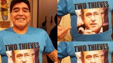 Диего Марадона: «Блаттер и Платини – два вора»