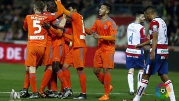 «Валенсия» снова не испытала проблем в матче с «Гранадой»