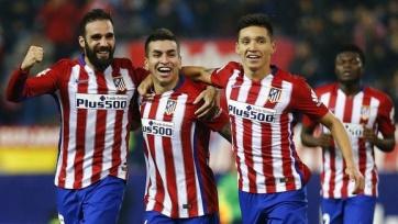 «Атлетико» пробился в следующий раунд Кубка Испании