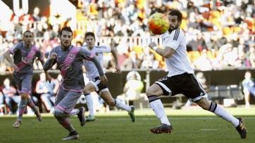 «Валенсия» вновь не смогла выиграть