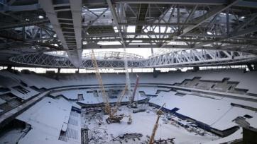 «Зенит Арена» может лишиться права проведения Кубка конфедераций