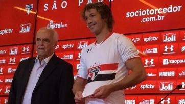 Диего Лугано пополнил ряды «Сан-Паулу»
