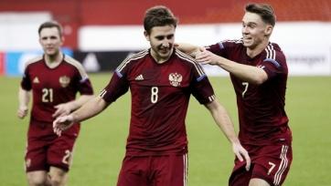 Российская «молодёжка» одолела сверстников из Латвии