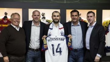 Официально: Мовсисян представлен в качестве игрока «Реал Солт-Лейк»