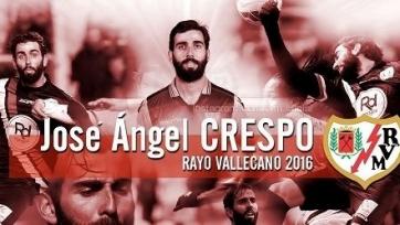 Официально: Креспо стал игроком «Райо Вальекано»