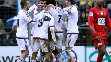 «Лион» вышел в 1/8 финала Кубка Франции, переиграв «Шамбли»