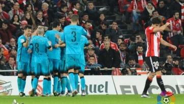 «Барселона» выиграла в Бильбао